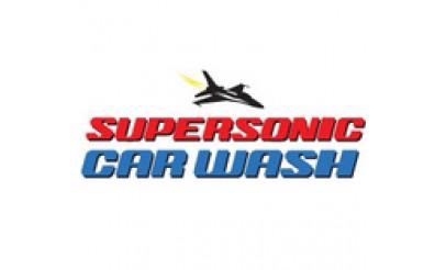 Supersonic Car Wash logo